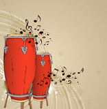 Red drums Royalty Free Stock Photos