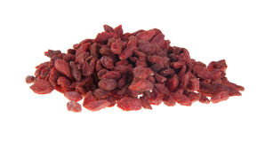 Red dry goji berries, chinese herb Stock Photography