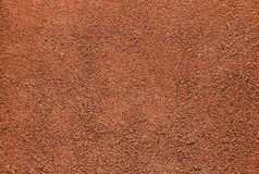 Red dry grungy clay tennis Stock Photos