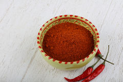 Red dry pepper Royalty Free Stock Photo