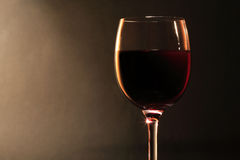 Red Dry Wine Stock Image