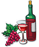 Red dry wine Royalty Free Stock Photography