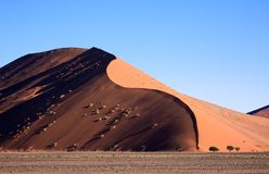 Red Dune Soussusvlei Royalty Free Stock Image
