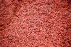 Red Dyed mulch Royalty Free Stock Photography