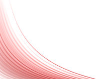 Red dynamic lines Royalty Free Stock Photography
