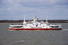 Red Eagle car ferry Stock Photo