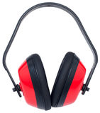 Red ear muffs Royalty Free Stock Photos