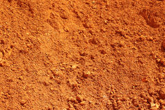 Red earth Stock Image