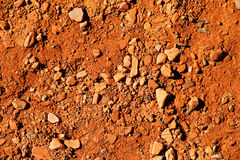 Red earth Stock Photo