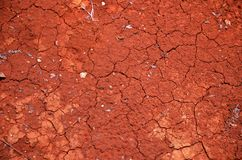 Red earth Royalty Free Stock Image