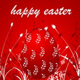 Red easter egg background royalty free stock photo