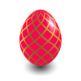 Red Easter egg Royalty Free Stock Photo
