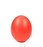 Red easter egg. Stock Photos