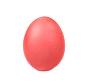 Red easter egg. Royalty Free Stock Photos