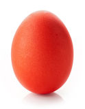 Red easter egg Royalty Free Stock Image
