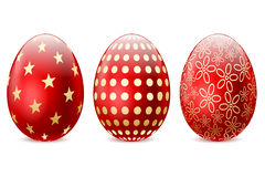 Red Easter Egg Royalty Free Stock Photography