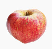 Red ecological apple Royalty Free Stock Images