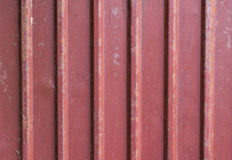Red econrib roof grunge texture background Stock Photos