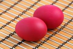 Red Eggs Stock Photos