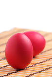 Red Eggs Royalty Free Stock Images