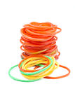 Red elastic. Royalty Free Stock Photos