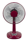 Red electric fan Stock Photos