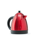 Red Electric Kettle Royalty Free Stock Photography