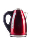 Red electric kettle Royalty Free Stock Image