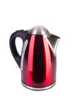 Red electric kettle Stock Images