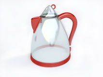 Red Electrical Glass Kettle Royalty Free Stock Image