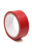 Red electrical tape Royalty Free Stock Photos