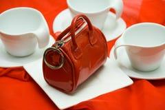 Red elegant Stock Image