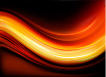 Red elegant abstract background Stock Images