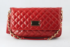 Red Elegant bag Stock Photography