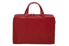 Red Elegant bag Royalty Free Stock Images