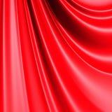 Red elegant cloth textile folds background Royalty Free Stock Image