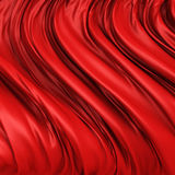 Red elegant cloth textile folds background Royalty Free Stock Photos