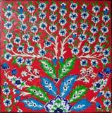Red elegant tile Royalty Free Stock Images