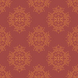 Red Element for Design. Pattern Fill. Royalty Free Stock Photography