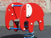 Red elephant Stock Image