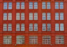 Red elevation of building. Nikon D200 Stock Photography