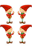 Red Elf - Giving A Thumbs Up Royalty Free Stock Photo