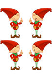 Red Elf - Having An Idea Royalty Free Stock Photos