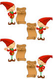 Red Elf - Naughty & Nice List Stock Photos