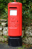 Red Elizabeth II Pillar Box Royalty Free Stock Image