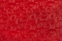 Red elliptic background Royalty Free Stock Photos