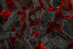 Red embers Royalty Free Stock Images