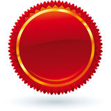 Red emblem Stock Image