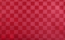 Red embossed paper Royalty Free Stock Photography