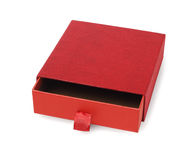 Red Empty Gift Box Stock Image
